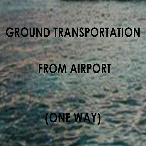 Ground Transportation from Airport - One Way