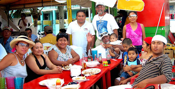 Friends and family of Ceviche Tours.