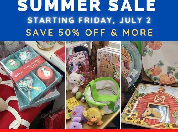Bon Bons Annual Summer Sale!