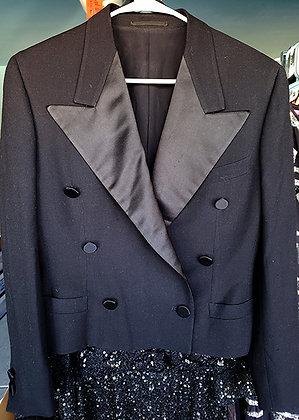 Gianni Versace Couture Black Tuxedo Jacket
