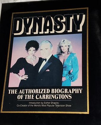 Dynasty Official Book Plaque