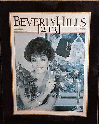 1983 Beverly Hills 213 Plaque
