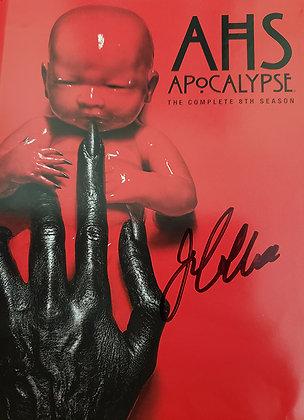 American Horror Story Apocalypse Complete Season Signed