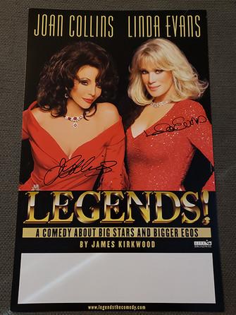 Signed Legends Poster