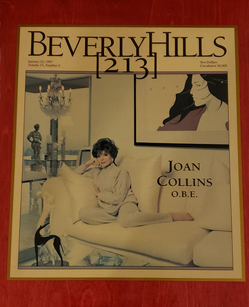 Joan Collins Home Decor