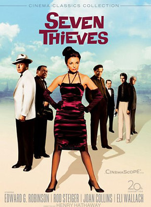 JC Triple Signed Seven Thieves DVD