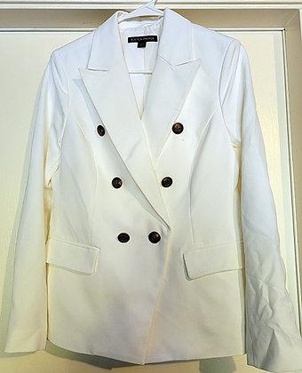 Boston Proper White Blazer