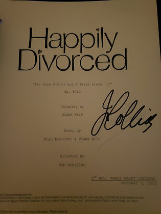 Joan's Personal Script from Happily Divorced - Two Guys