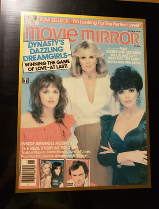 Dynasty Movie Mirror Plaque