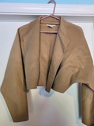 Michael Kors Beige Crop Jacket