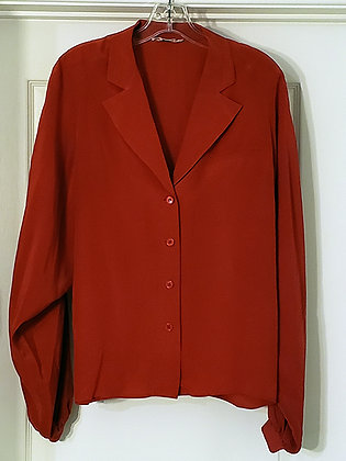 Valentino Red Blouse Worn in Sins