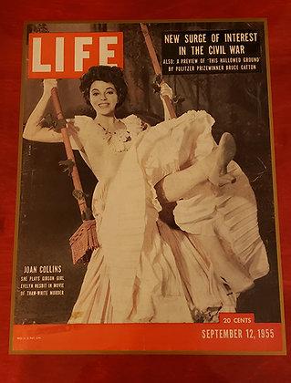 The Girl in the Red Velvet Swing Life Magazine Display