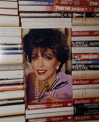 JC A Bevy of Books Signed 8x10 Photo