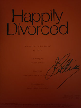 Joan's Personal Script from Happily Divorced - For Better or For Worse