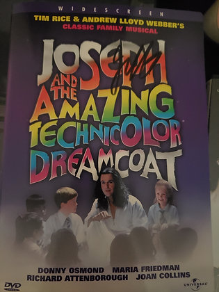 JC Signed Joseph and the Amazing Technicolor Dreamcoat DVD