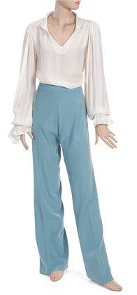 Custom Designed Jackie Palmer Blouse and Pants