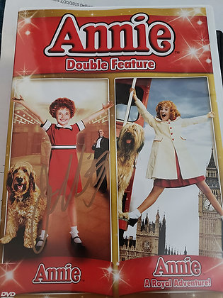 Annie A Royal Adventure Signed DVD