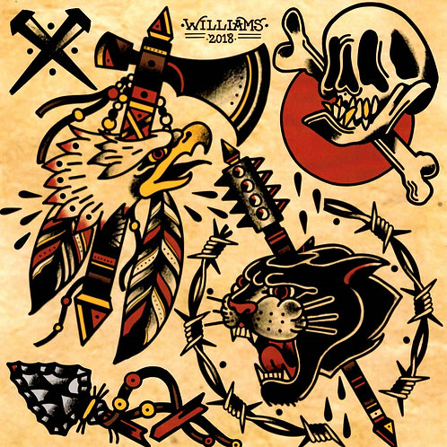 Adam Williams Flash Sheet 1