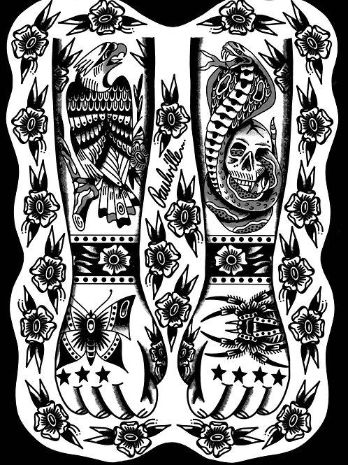 Paul King Flash Print 1