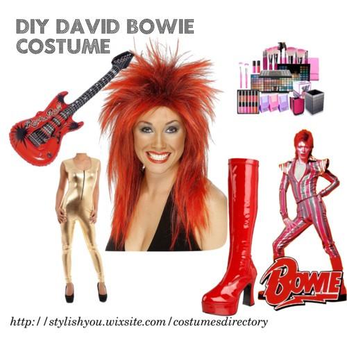 DIY David Bowie jelmez