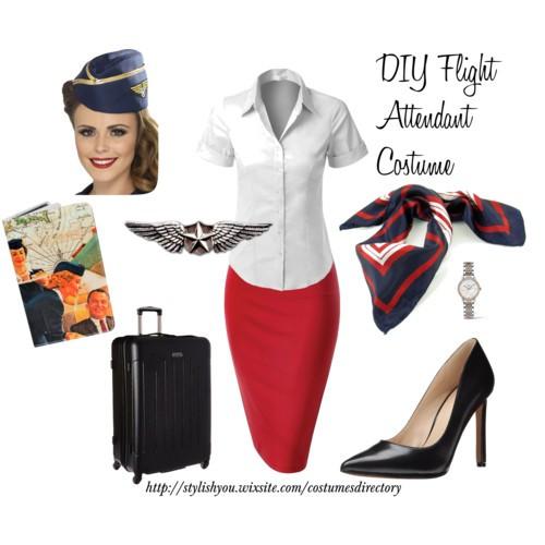 DIY Stewardess jelmez