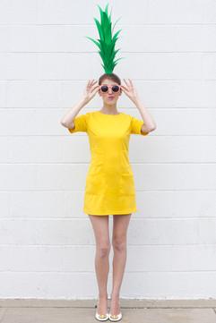 DIY ananász jelmez