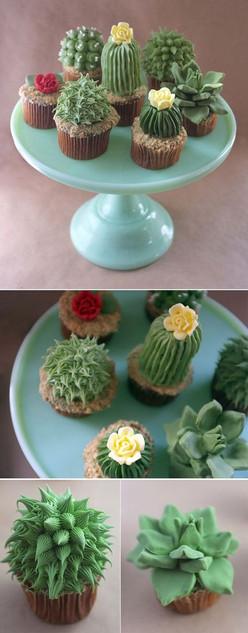 A kakukktojás: Ehető pozsgás muffinok