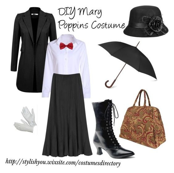 DIY Mary Poppins jelmez