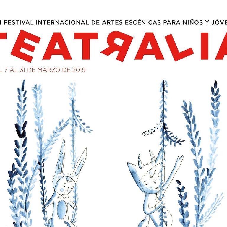 2019, 9 al 11 març. TEATRALIA - Sala Mirador. Madrid.