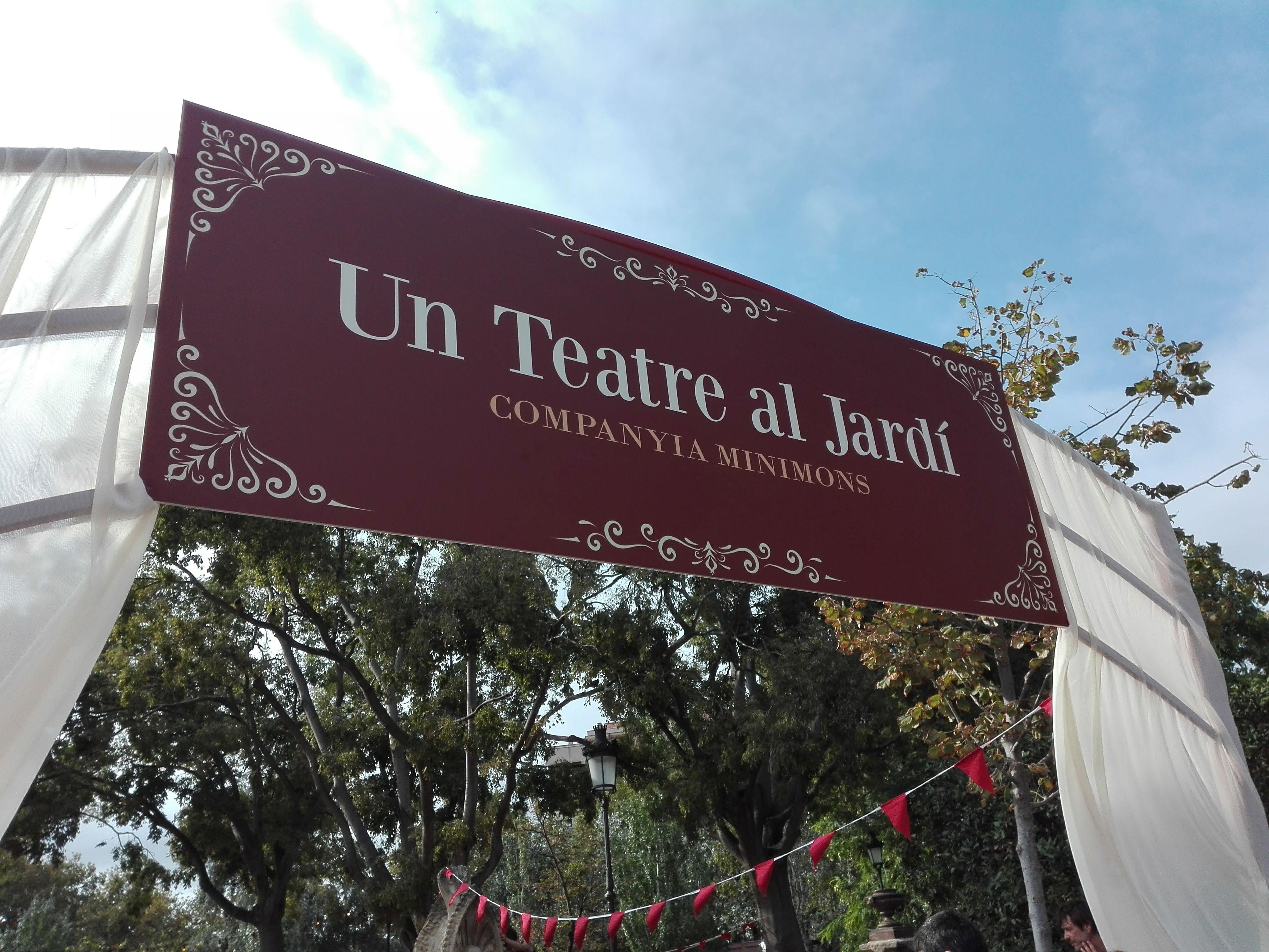 Un Teatre al jardí