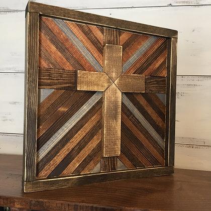 3D Cross Geometric Art