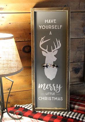 Merry Little Christmas Deer