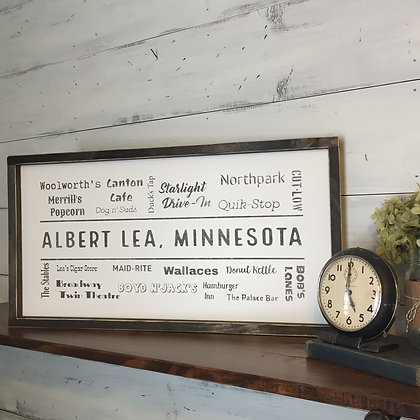 Vintage Albert Lea