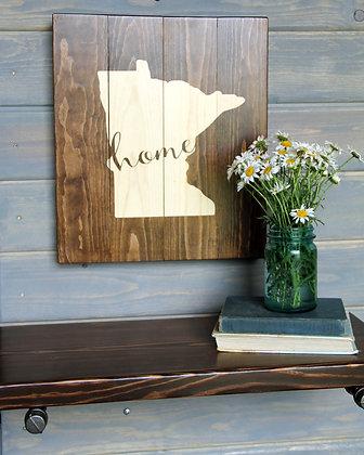"Minnesota ""home"" sign"
