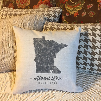 Albert Lea pillow