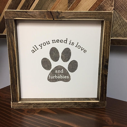 All you need is love and furbabies
