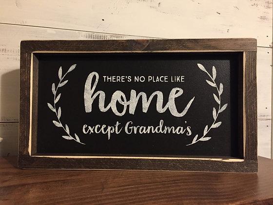 No place like..._______