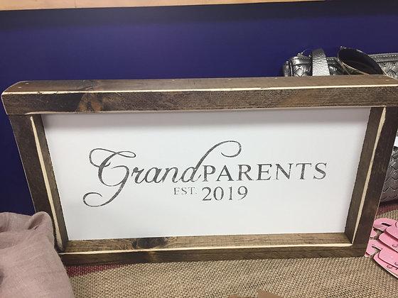 Grandparents Est.....