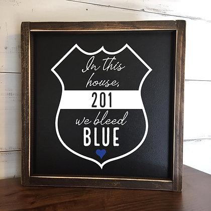 We bleed blue