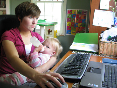 Self-Employment Series: Working from home with kids
