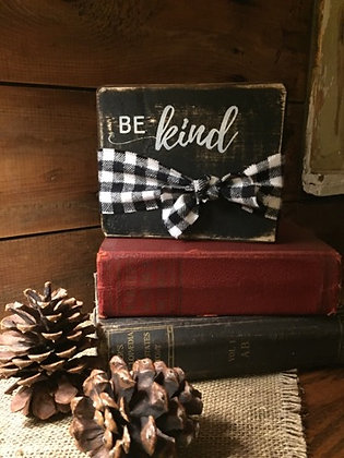 Be Kind block