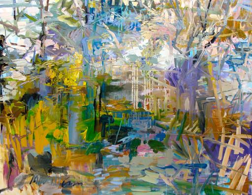 Portal-(Spring),-51x66,-Acrylic,-Ink,-Canvas,-20152.jpg