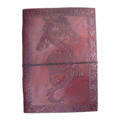 LEATHER  JOURNAL LARGE ASSORTED