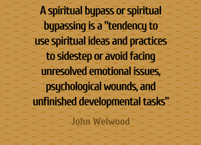 """SPIRITUALITY: IT'S NOT (JUST) SOMETHING YOUR """"IN TO"""""""
