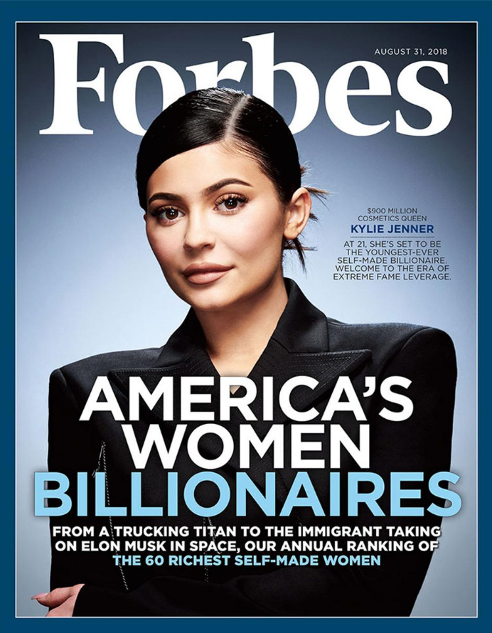 Kylie Jenner to Become the Youngest Self-Made Billionaire Ever