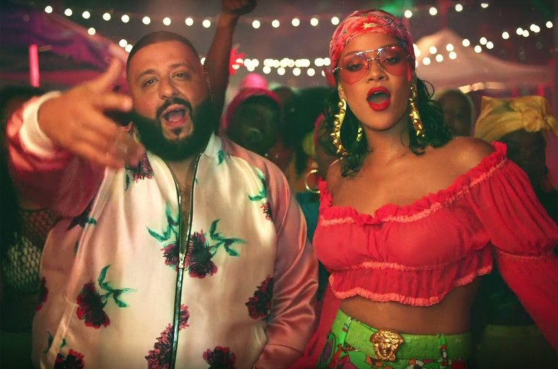 DJ Khaled Releases 'Wild Thoughts' Music Video