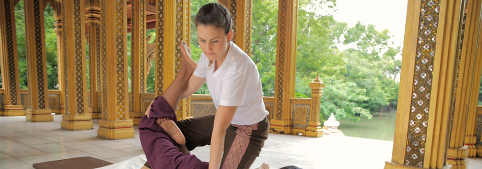 Curso Formação em Massagem Thai