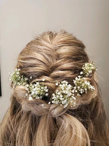 Bridal Hair Style at Posh A Salon