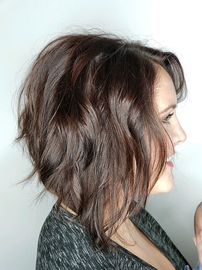 Styled Hair at Posh A Salon