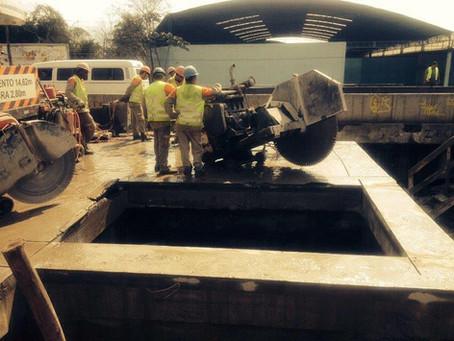 Nova Dutra - Demolição Controlada e Reconstrução da Ponte sobre o Rio Maxambomba (BR-116)